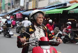older rider